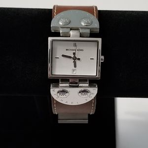 Michael Kors Rectangular Watch MK-4056